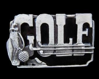 Golf Game Sport Club Activity Golfer Sports Belt Buckle