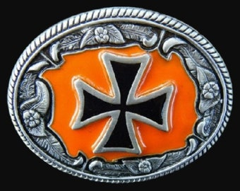 Crusader Crusade Knights Templar Cross Sign Belt Buckle