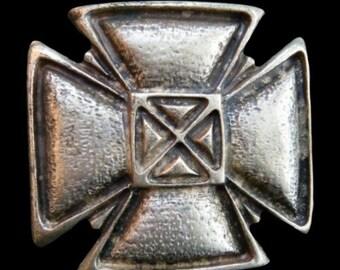 Celtic Irish Maltese Iron Gothic Religious Religion Cross Belt Buckle Buckles