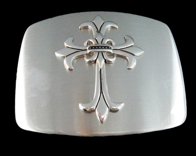 Gothic Medieval Cross Belt Buckle Goth Crosses Belts & Buckles