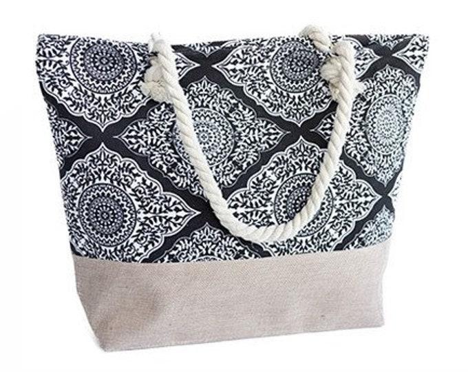 Handbag Indian Mandala Tote Shoulder Women Christmas Gift Travel Beach Bag