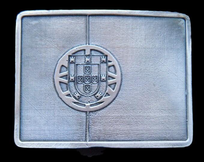 Portugal Porto Quinas International Flag Metal Belt Buckle