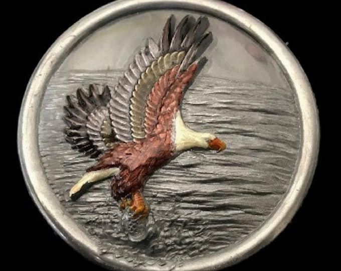 Bald Eagle North America American Eagles Prey Bird Belt Buckle Buckles