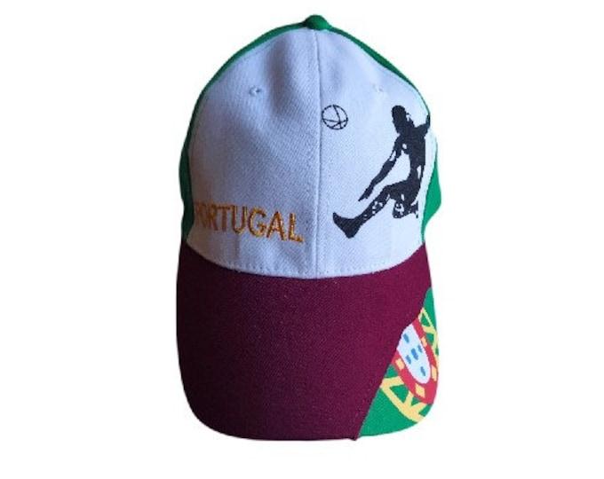 Portugal Azores Lisbon Flag Sport Soccer Player Tennis Hat Cap