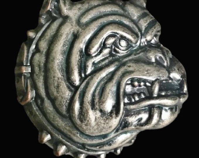 Bulldogs Spike Dog Collars House Pets Animal Belt Buckle Buckles
