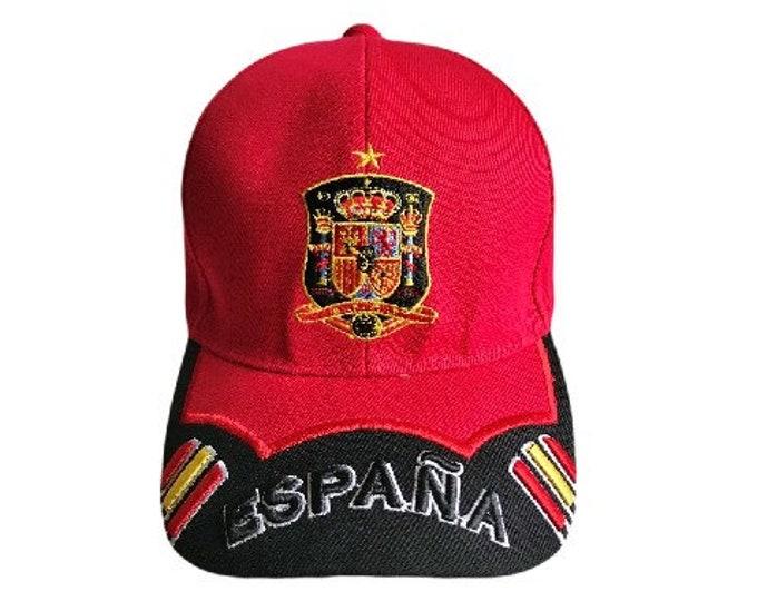 Spain Espana Spanish Flag Baseball Cap Hats Gorra Bandera