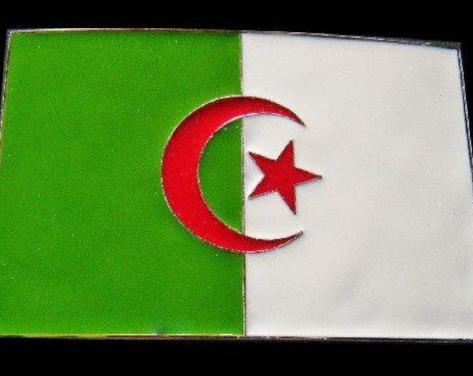 Algeria Flag National Country Algerian Flags Belt Buckle Buckles