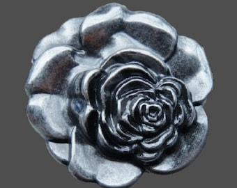 Flower Blooming Rose Floral Western Belt Buckle Buckles