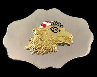 Eagle Native Indian Wild Life Bird Western Belt Buckles