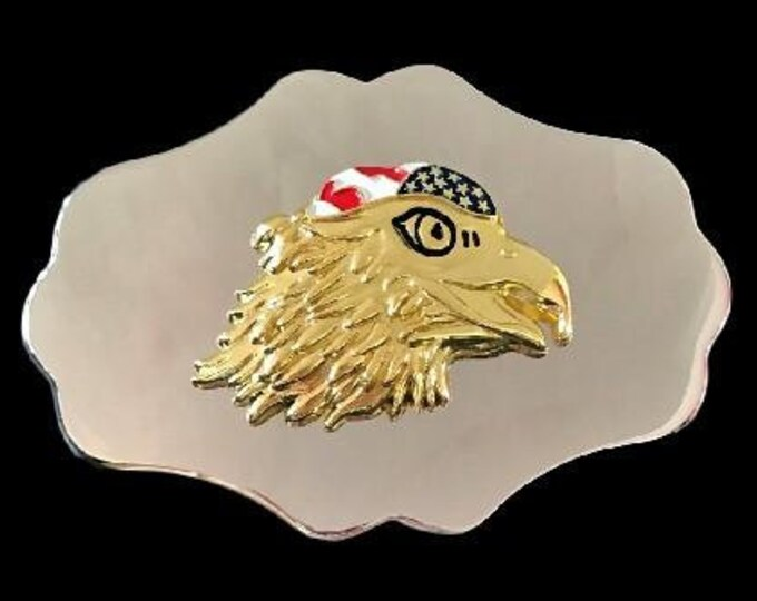 Eagle Native Indian Wild Life Bird Western Belt Buckles