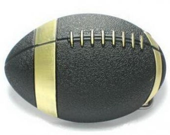 Football American Ball Game Sport Fans Belt Buckle Buckles