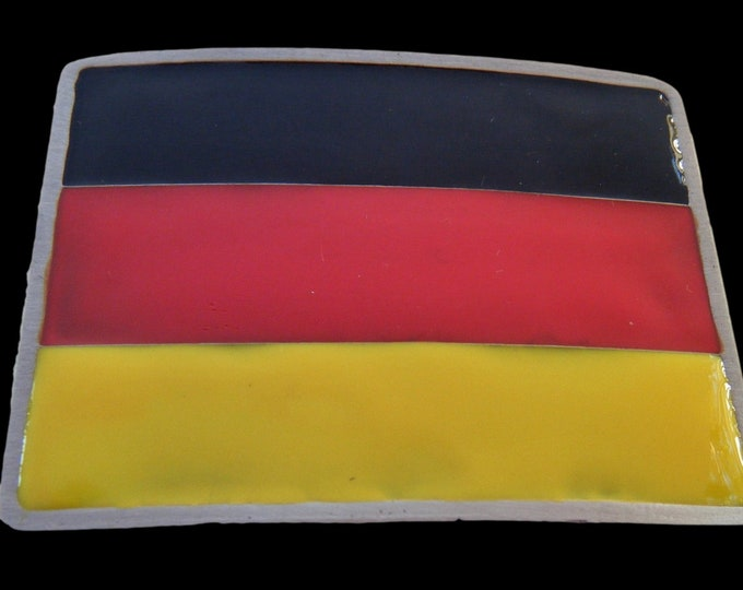 German Flag Belt Buckle Deutschland Berlin Germany Flags Belts and Buckles