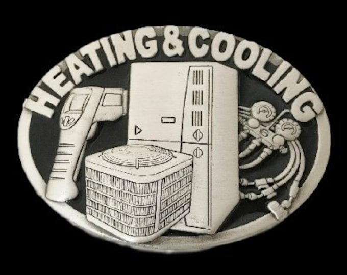 Heating & Cooling Air Conditioner Technician Equipment Cool Belt Buckle Buckles