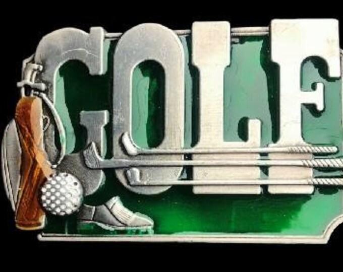 Golf Belt Buckle Game Sport Club Activity Golfer Sports Belts Buckles