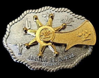 Cool Far West Western Cowboy's Spinning Spur Belt Buckle Buckles
