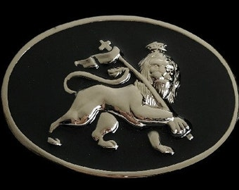 Lion Judas Crown Flag Animal King Of The Jungle Belt Buckle Buckles