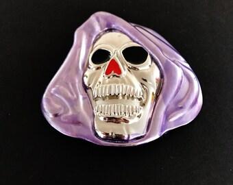 Grim Reaper Skull Skeleton Ghost Belt Buckle