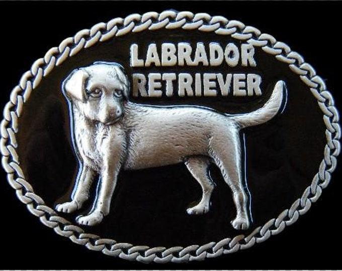 Labrador Retriever Pet Dog Puppy Chain Quality  Belt Buckle Belts Buckles