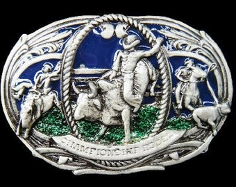 Rodeo Cowboy Western Bull Riders Belt Buckle Buckles Boucle de Ceinture