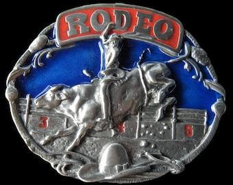 Rodeo Cowboy Bull Rider Western Belt Buckle Buckles