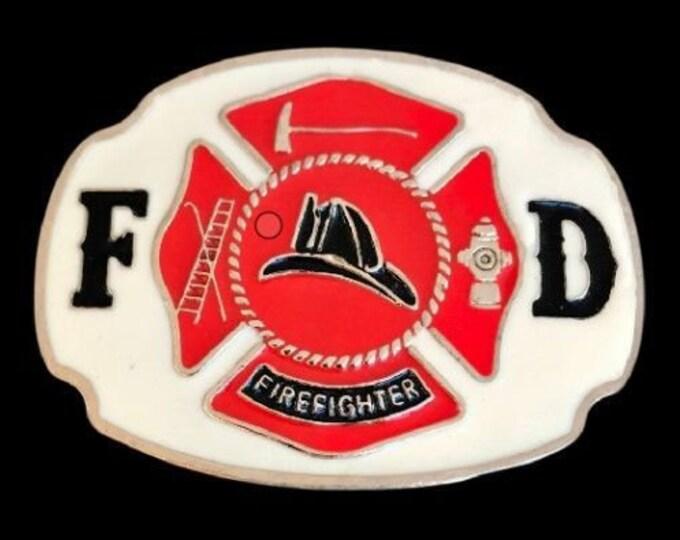 Belt Buckle FD Fire Dept Fireman Firemen Firefighters Cool Boucle De Ceinture