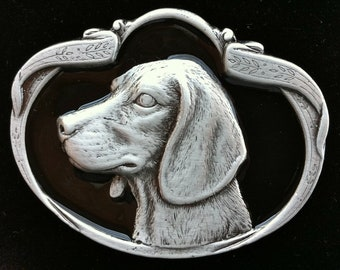 Labrador Retriever Dog Puppy Pup Belt Buckle Buckles