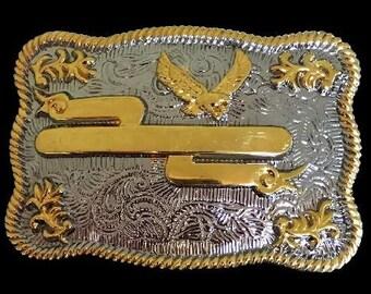 Rodeo Western Engravable Belt Buckle