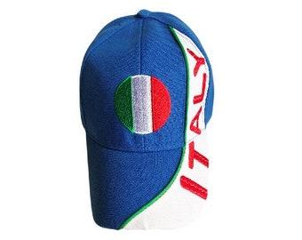 Auth Zoppini Italian Charm-Baseball Cap Green Visor