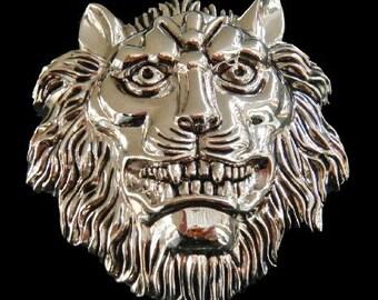 Lions Head Roman Jungle King Animal Belt Buckle Buckles
