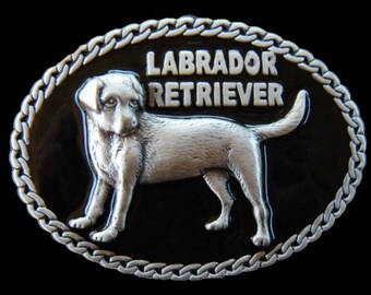 Labrador Retriever Pet Dog Chain Quality Belt Buckle Belts Buckles