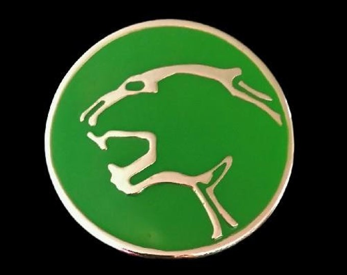 Jaguar Green Wild Cat Cats Panther Animal Jungle Belt Buckle