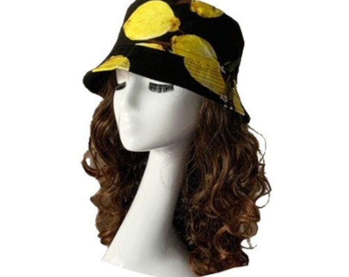 Lemon Lemons Bucket Hat Cap Hip Hop Fishing Fisherman Unisex Hats