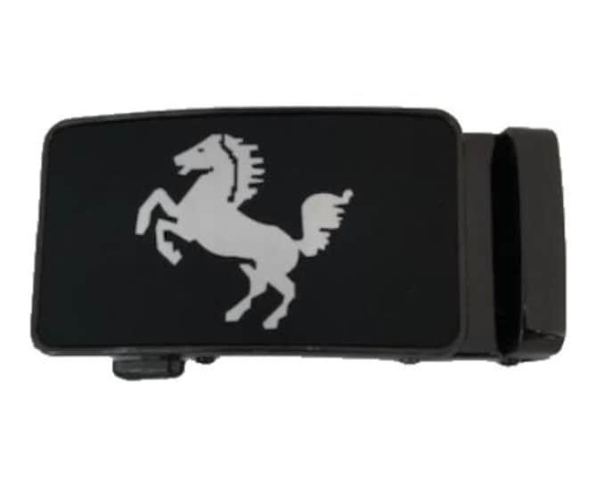 Men's Metal Automatic Buckle Belt's Auto-Buckle Buckles Classy Fashion Design
