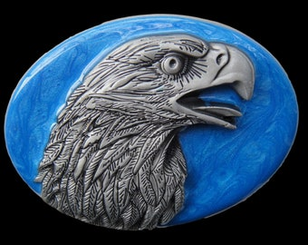 Eagle Head Belt Buckle American Wild Bald Eagles Unique Boucle de Ceinture