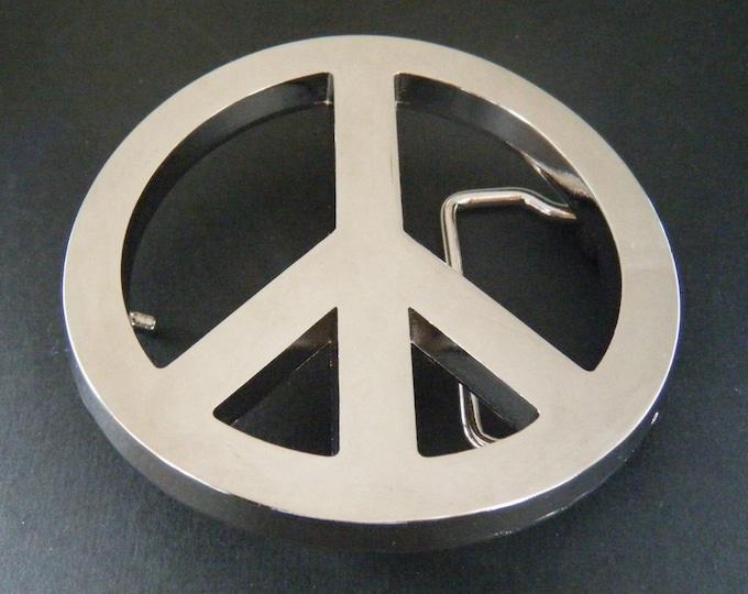 Peace Sign Belt Buckle Signs Hippie Era Belts Buckles Boucle de Ceintures