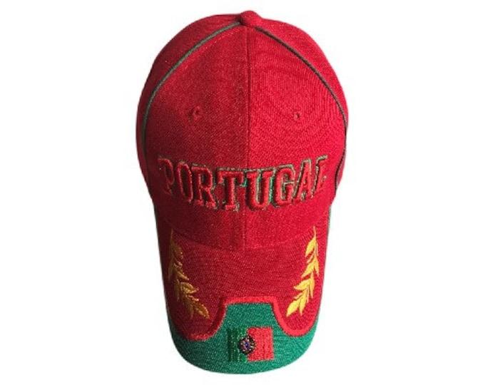 Ball Cap Hat Portugal Country Sports Soccer Team Baseball Caps Hats