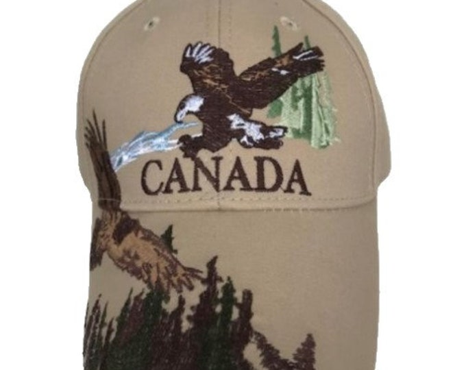 Canada Flying Eagles Embroidered Baseball Ball Cap Hat