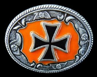 Crusader Crusade Knights Templar Cross Sign Belt Buckle