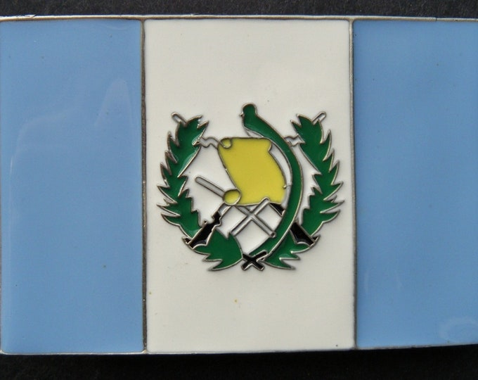 Guatemala Central South America Cool Flag Belt Buckles