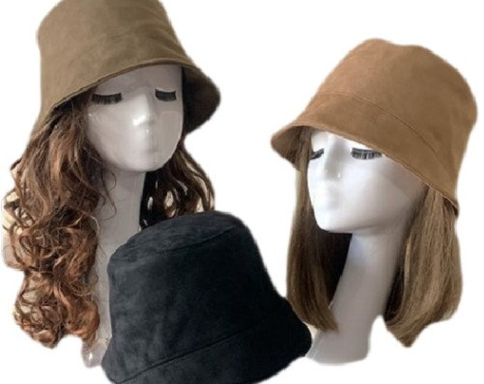 Cotton Adults Bucket Hat Winter Warm Outdoor Hats
