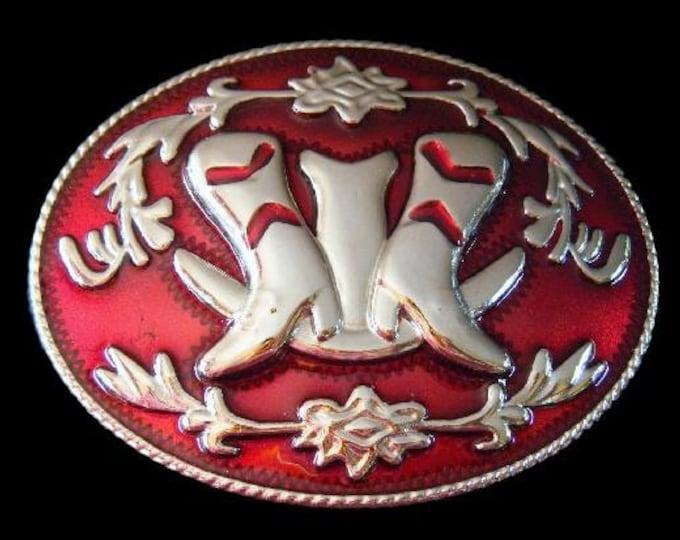 Western Cowgirl Cowboy Boots Ranch Belt Buckle Belts Buckles