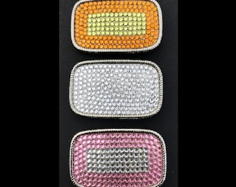 Set of 3 Rhinestone Belt Buckles Cool Rhinestones Belt Buckle