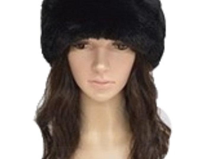 Warm Fashion Style Women's Faux Fur Russian Cossack Style Winter Hats