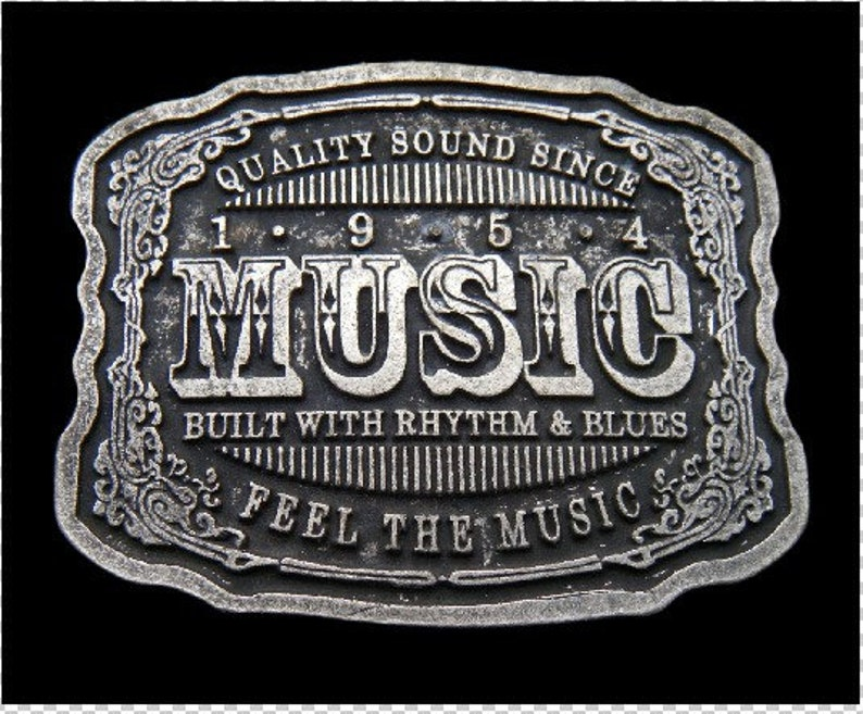 Quality Music Rhythm And Blues Musical Cool Belt Buckles