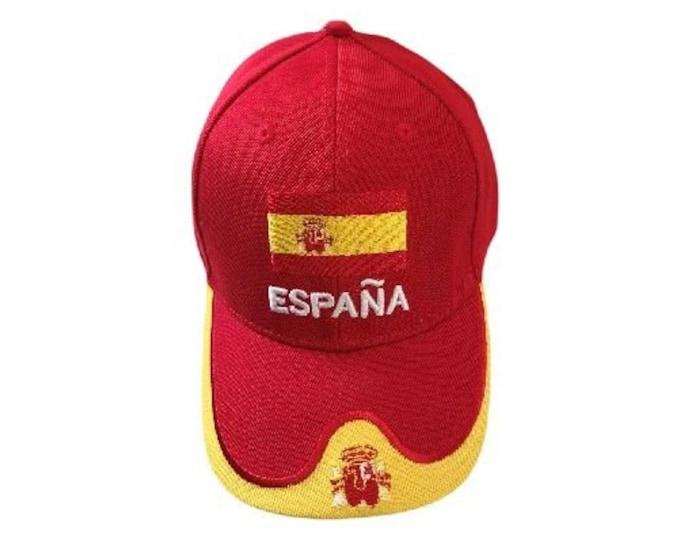 Spain Espana Flag Baseball Cap Hats