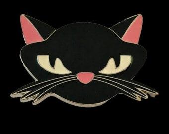 Pink Ears Cat Ktty Kitten Belt Buckle Belts Buckles