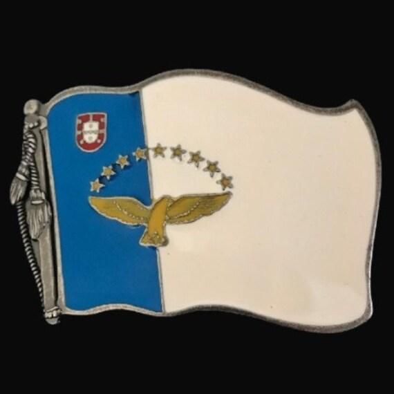 Azores Acores portuguese flag charm