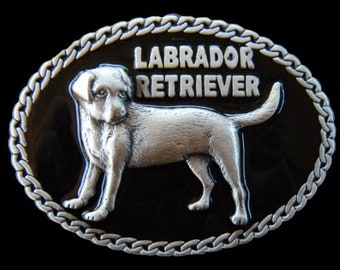 Labrador Retriever Pet Dog Chain Quality Belt Buckle Belts Buckles