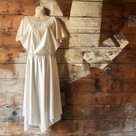 Handmade 1930 Style Vintage Draped Goddess Dress