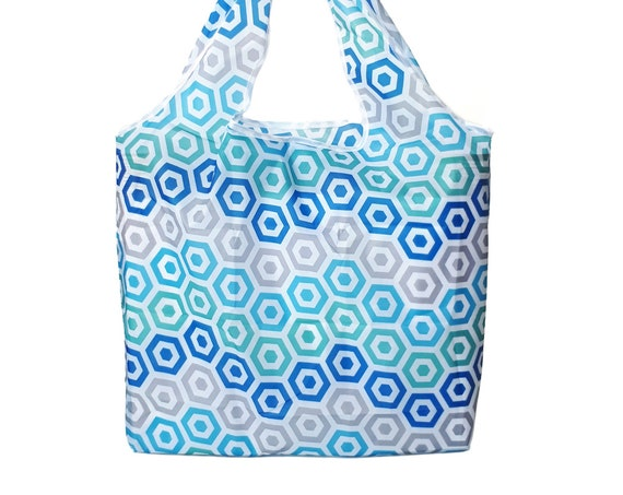 Reusable Shopping Foldable Bag  | Market Tote Grocery Zero-Waste Eco Shopping
